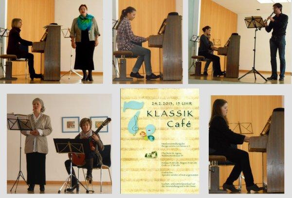 7. Klassikcafé im Pfarrsaal St. Agnes