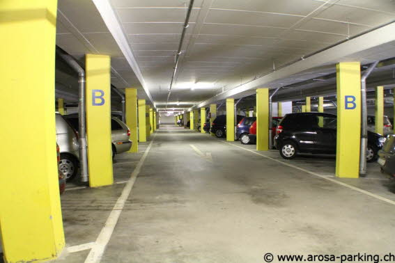 Parking Ochsenbühl Arosa