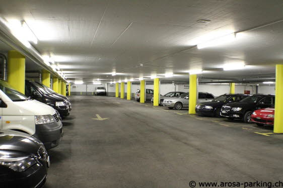 Parking Sandhubel Arosa