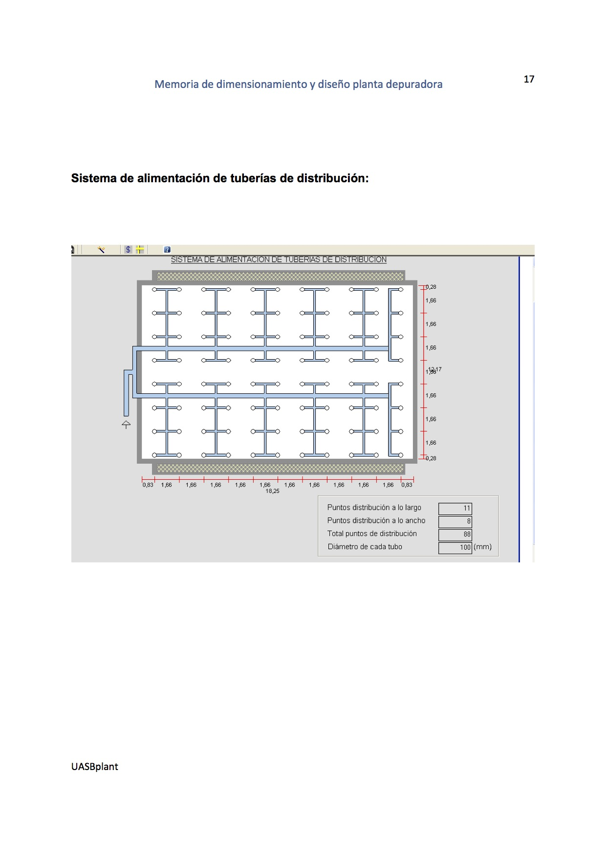 Software reactores UASB - biofiltros - clarificadores
