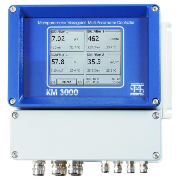 Medidor de pH, redox, temperatura
