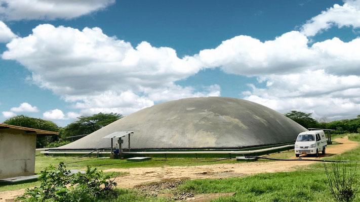 Biodigestor tropicalizado - covered lagoon digester - matadero de reses - frigorifico - biodigestor camal - biodigestor rastro