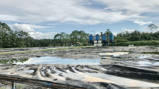 biodigestores mal construidos - Pome - aguas residuales producción aceite de palma africana