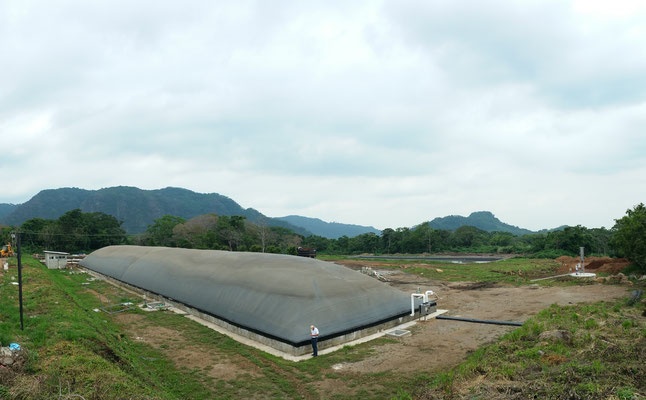 Biodigestor - biogas - digestor - biogás - biodigestores - plantas de biogas - covered lagoon digester