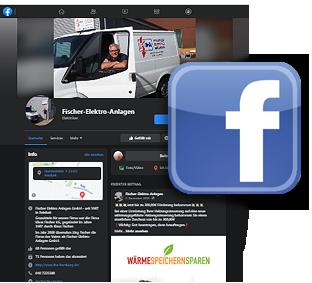 Webscreen: Facebooksite von FISCHER-ELEKTRO-ANLAGEN GmbH aus Reinbek bei Hamburg auf Facebook