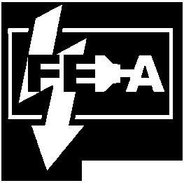 Grafik: Wasserzeichen / Logo der FISCHER-ELEKTRO-ANLAGEN GmbH, Reinbek, Elektriker im Großraum Hamburg
