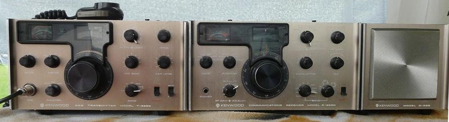 Kenwood Transmitter model T-599S / Receiver R-599D and Speaker S-599.