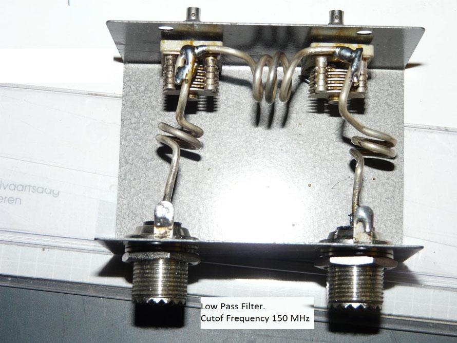 low pass filter 144 MHz