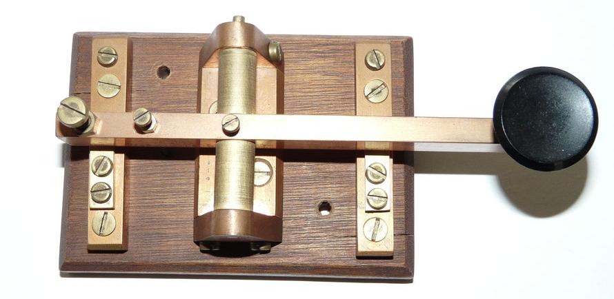 Morse Key Home made.