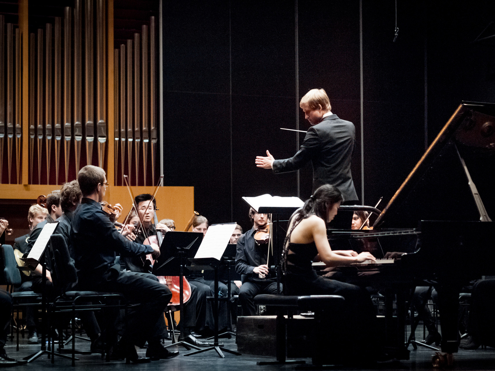 Beethoven: 4. Klavierkonzert 7/2015 // Foto: Moritz Goldmann