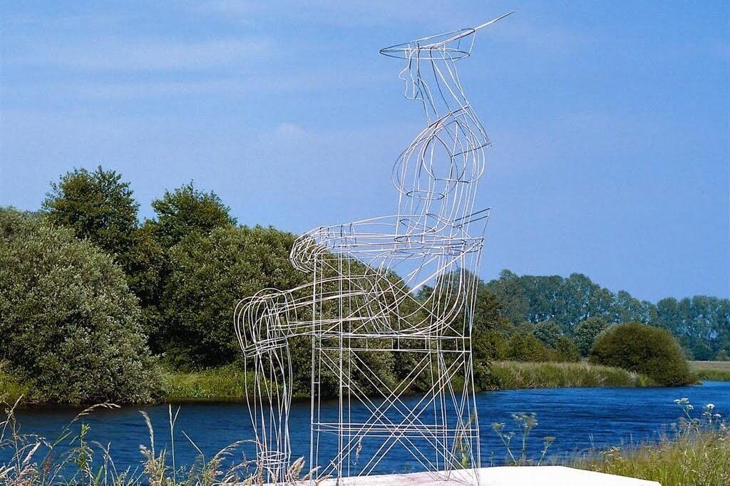 Skulptur Laar