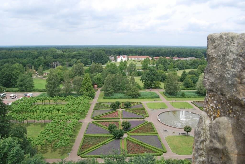 Blick von der Burg Bentheim