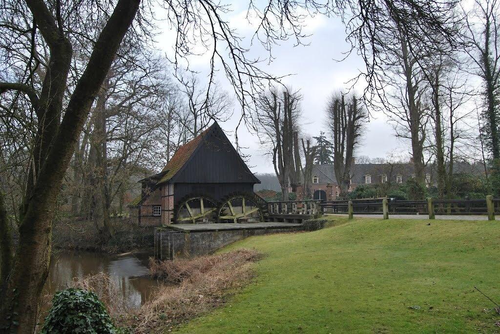 Wassermühle in Lage