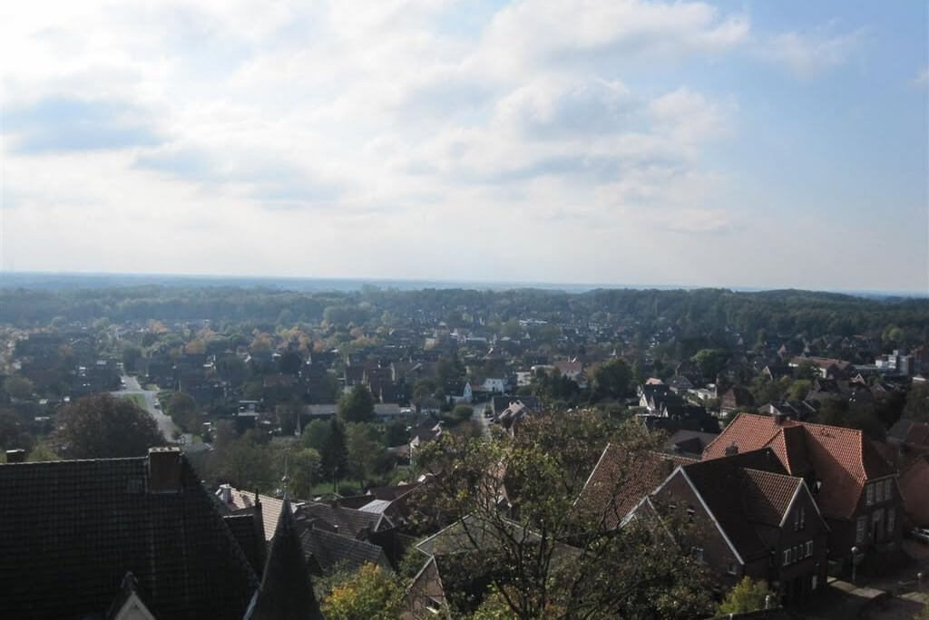 Blick über Bad Bentheim