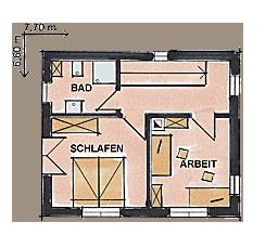 Zimmerei Treibholz Grundriss OG