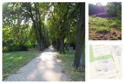 Im Oktober 2019 haben wir unser Grundstück von ca. 500m2 bezogen. Es befindet sich auf dem Jacobi-Friedhof in der Hermannstrasse 99 in Neukölln direkt neben den Prinzessinnengärten.