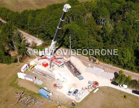 Cliché et vidéo en drone à Voutenay-sur-Cure Auxerrre -Photovideodrone
