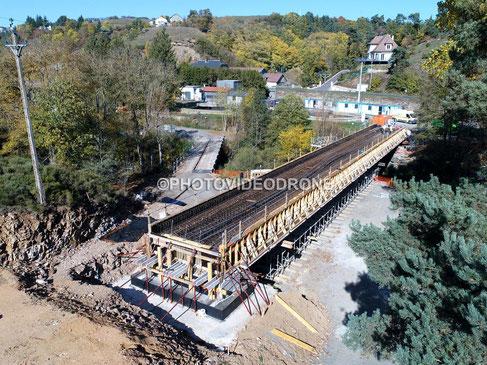 Photo et vidéo en drone de la Station d'épuration de Saint Flour Cantal - Photovideodrone