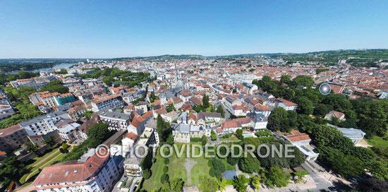Photographie en drone du Vieux Vichy - Photovideodrone