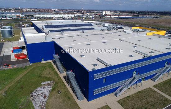 Photo et Vidéo en drone du magasin Ikéa à Clermont-ferrand Auvergne-Photovideodrone