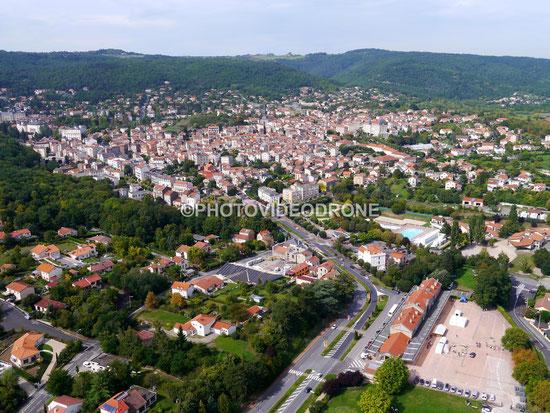 Photo et vidéo en drone de Chatel Guyon Puy-de-Dôme-Photovideodrone