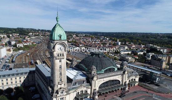 Photo et vidéo en drone de la Gare de Limoges Bénédictins - Photovideodrone