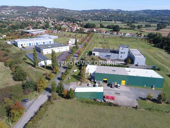 Photo et vidéo en drone du Bioparc à Hauterive Allier Auvergne-Photovideodrone