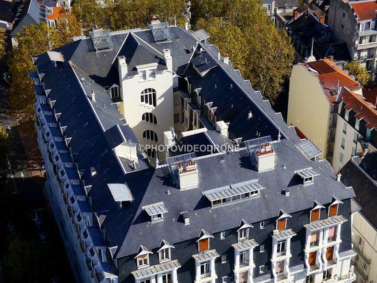 Photo Vidéo en Drone de Palais des Parcs à Vichy - Photovideodrone