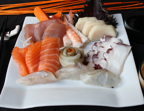 Sashimi moriawase - Sashimi variado