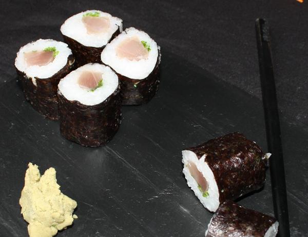 Hosomaki Negitoro - Hosomaki de atún con cebollino