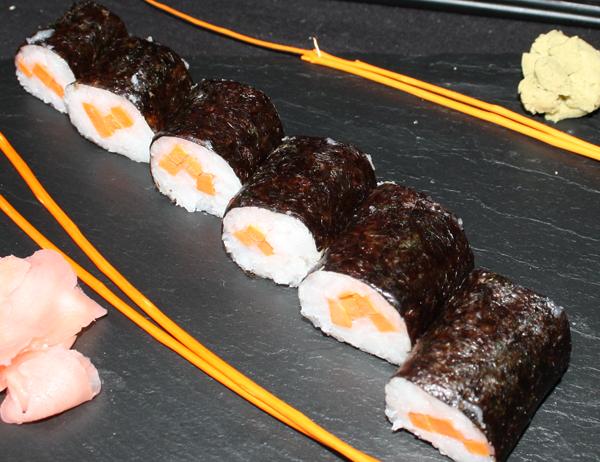 Hosomaki Ninjin - Hosomaki de zanahoria