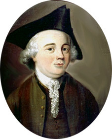 "Portrait, said to be of John Kay in the 1750s, but probably of his son, ""Frenchman"" John Kay."