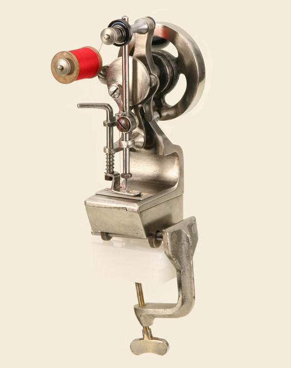 Kettenstichmaschine von Isidor Nasch 1887