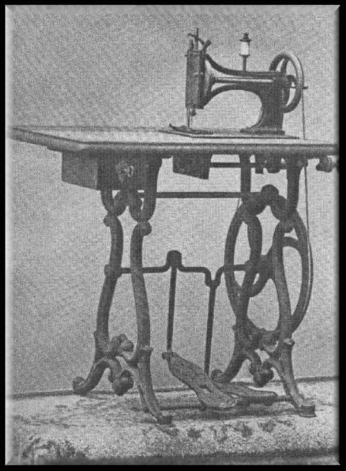 Adam Opel first sewing machine