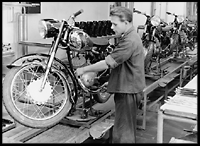 Motor-cycle production at Dürkopp