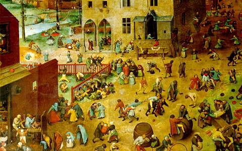 П.Брегель старший Игры детей. 16 век