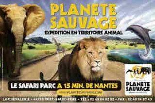 Site de Planèt Sauvage (safari parc)