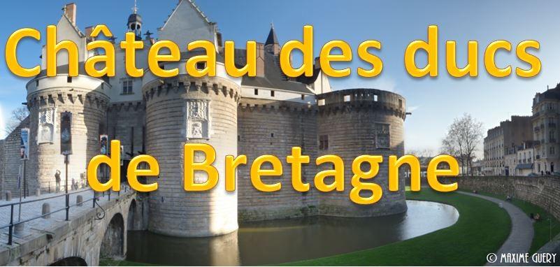 Site du chateau de Nantes