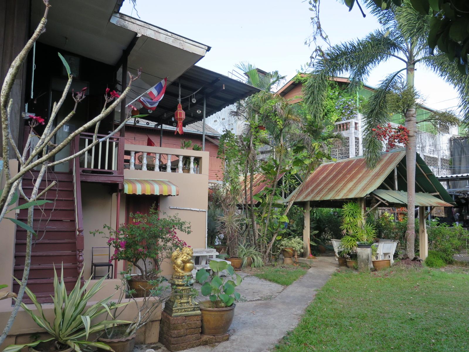Guest House garden view