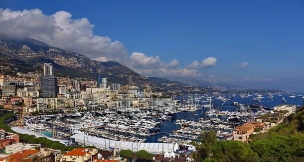 Monac auf der Heimfahrt von St.Tropez