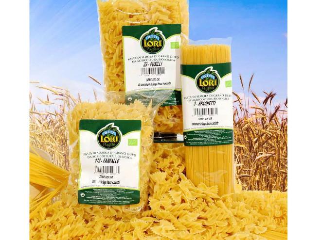PASTA BIO: Spaghetti, Penne Rigate, Fusilli
