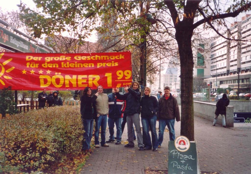 13.11.2004 Auf nach Berlin ins Tempodrom - Berlin = Dönerland