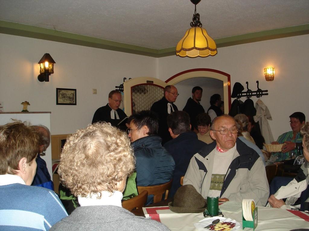 Beteiligung am Himmelfahrtsgottesdienst an der Dietrichsburg