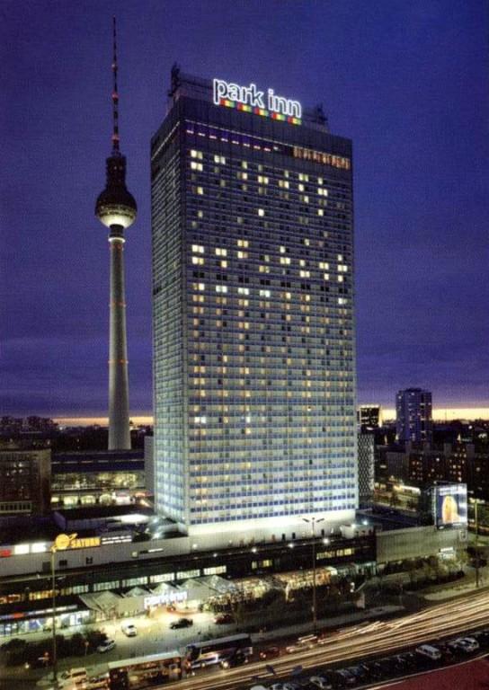 13.11.2004 Auf nach Berlin ins Tempodrom - unser Hotel