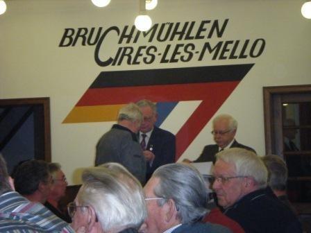 JHV Sängerbund - Ehrung Alfred Rosenau f. 50 Jahre Chorgesang