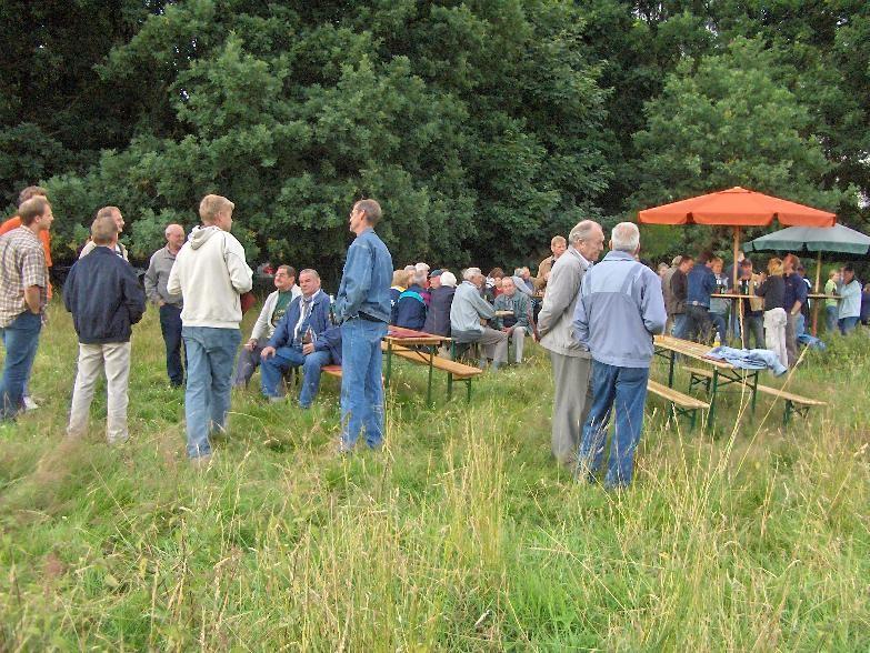 Juni 2005 Öffentliche Chorprobe am Heidering