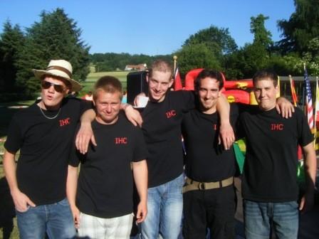 "Mannschaftfoto ""Team Holsten"""