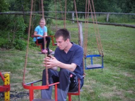 25.06.2010 Festvorbereitungen - Karuselltest II