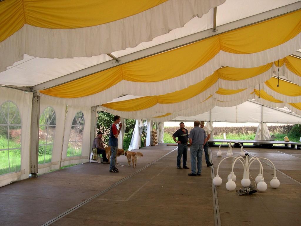 23.08.2004 Volksfest Abbau