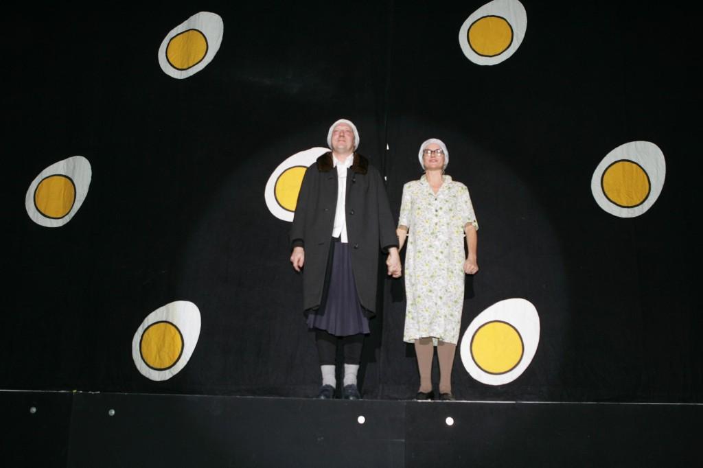 13.11.2004 Auf nach Berlin ins Tempodrom - Anneliese hat noch ne' Überraschung!